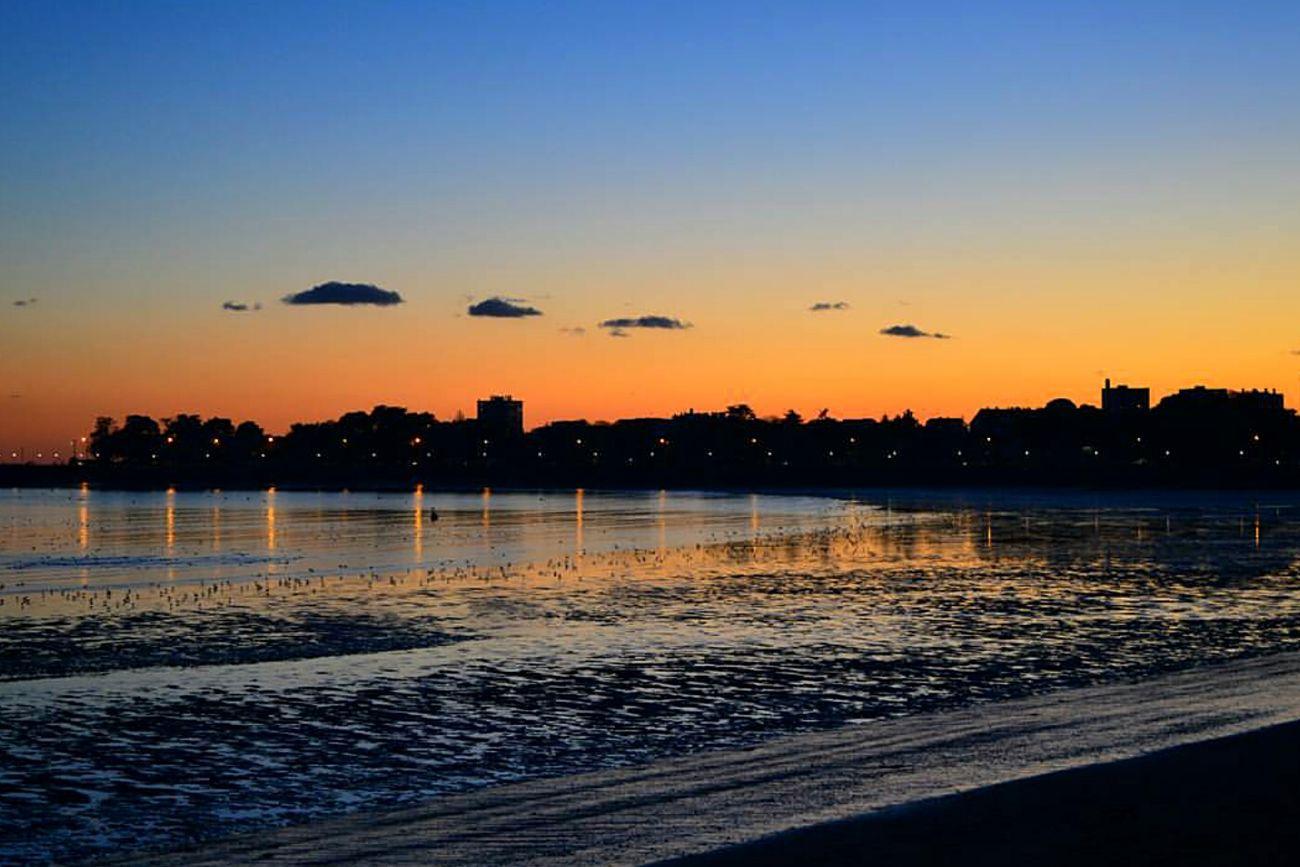 | S U N S E T | Sunset Water Outdoors Nature Photography Night Illuminated City Contrast Summer Nikon Landscape