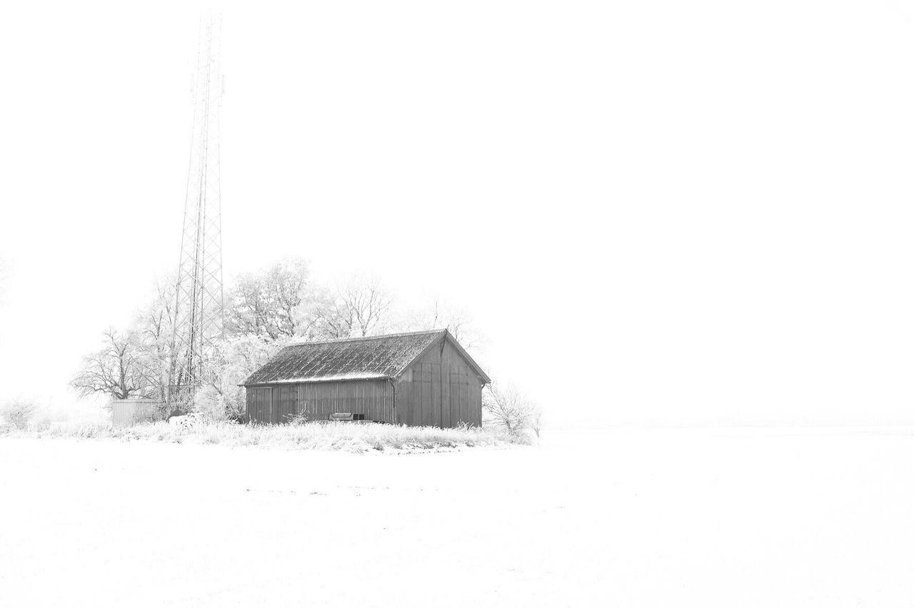 Winter Snow Cold Temperature House Landscape Winter Black And White EyeEm Best Shots - Black + White Shootermag Monochrome