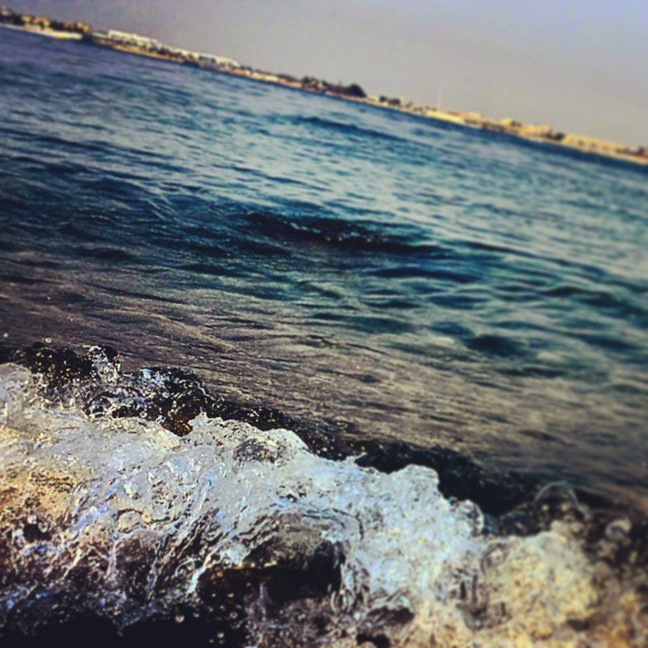 sea, water, nature, beauty in nature, no people, outdoors, day, beach, wave, scenics, blue, close-up, sky, horizon over water