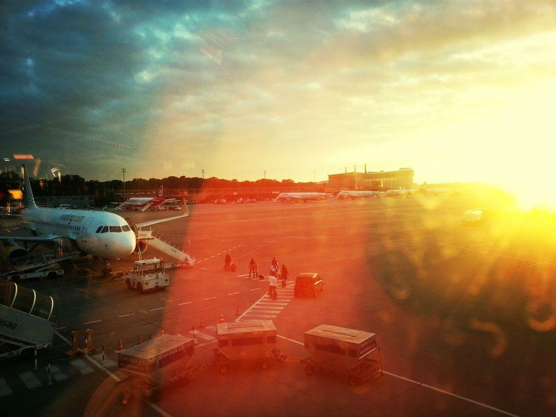 airport romance VuelingBotschafter ♥