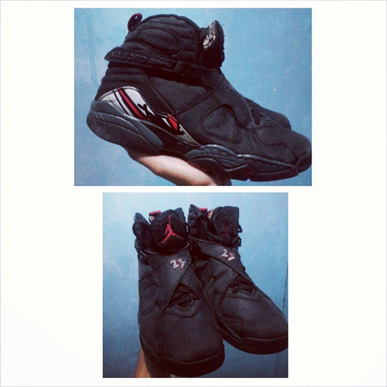 Thankyou @mmnplms :))) Jordan8 Playoffs Restore Sneakershead