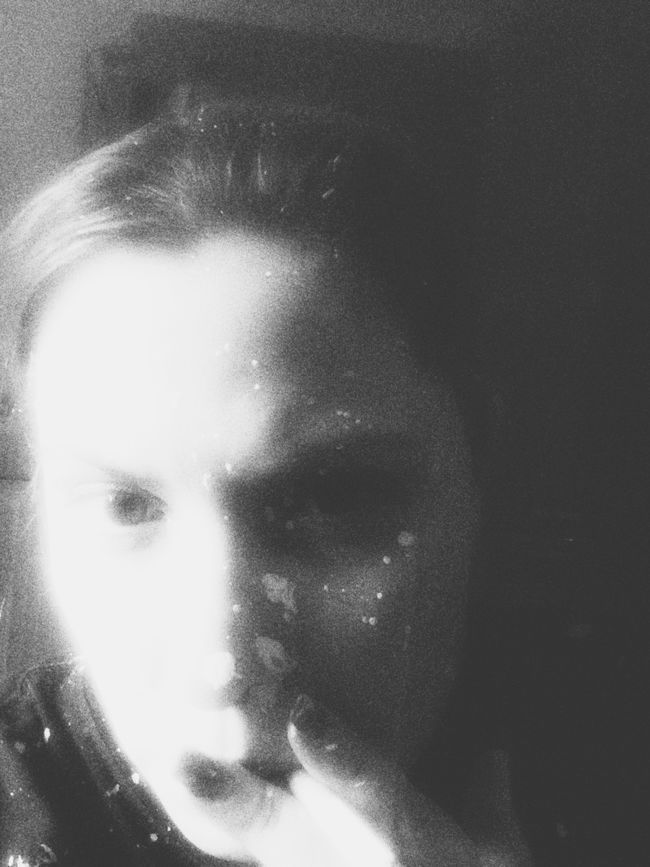 Full of white ....WTF Dark Portrait OpenEdit Black & White Vampires And Werewolves Blackandwhite Selfportrait
