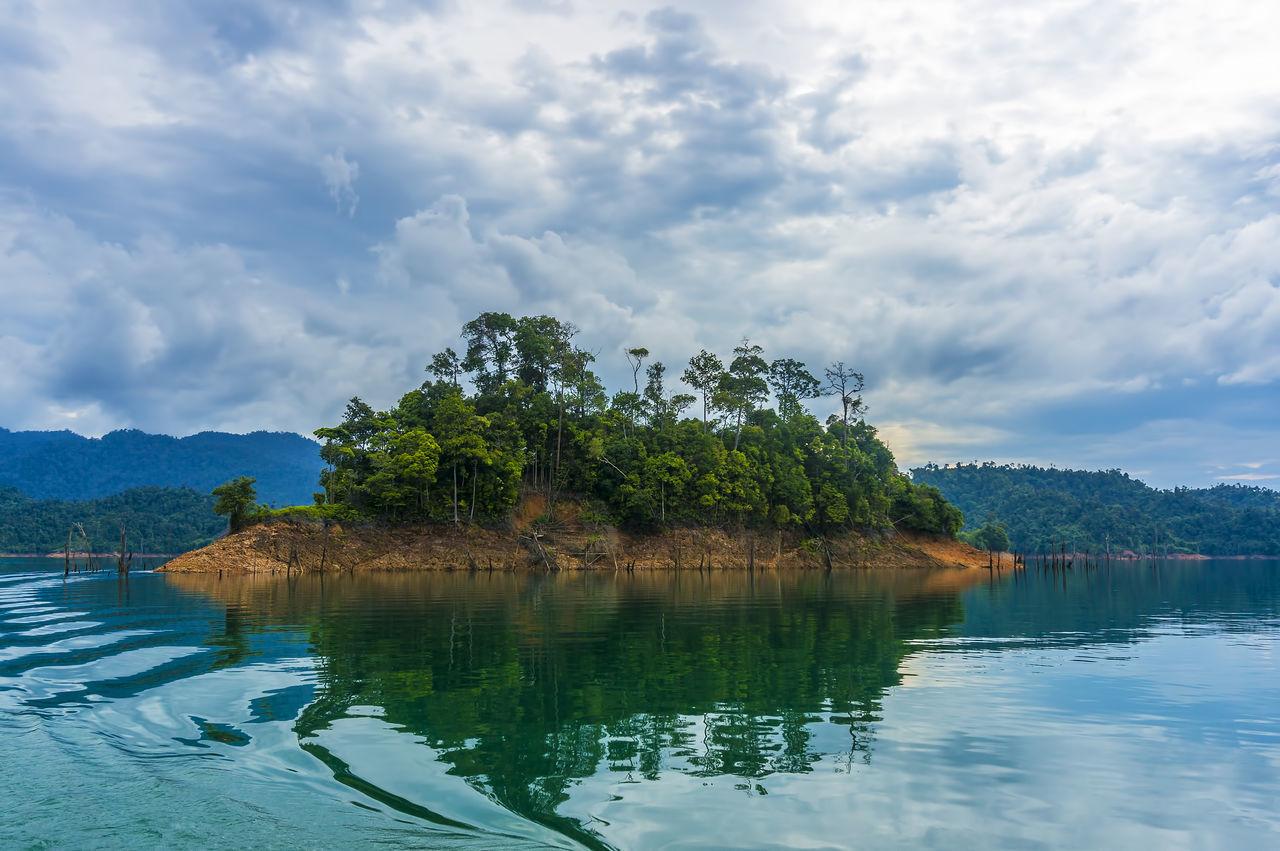 Dam Death Tree Forest Island Jungle Lagoon Lake Lake View Landscape Limestone Rocks Reflection Water