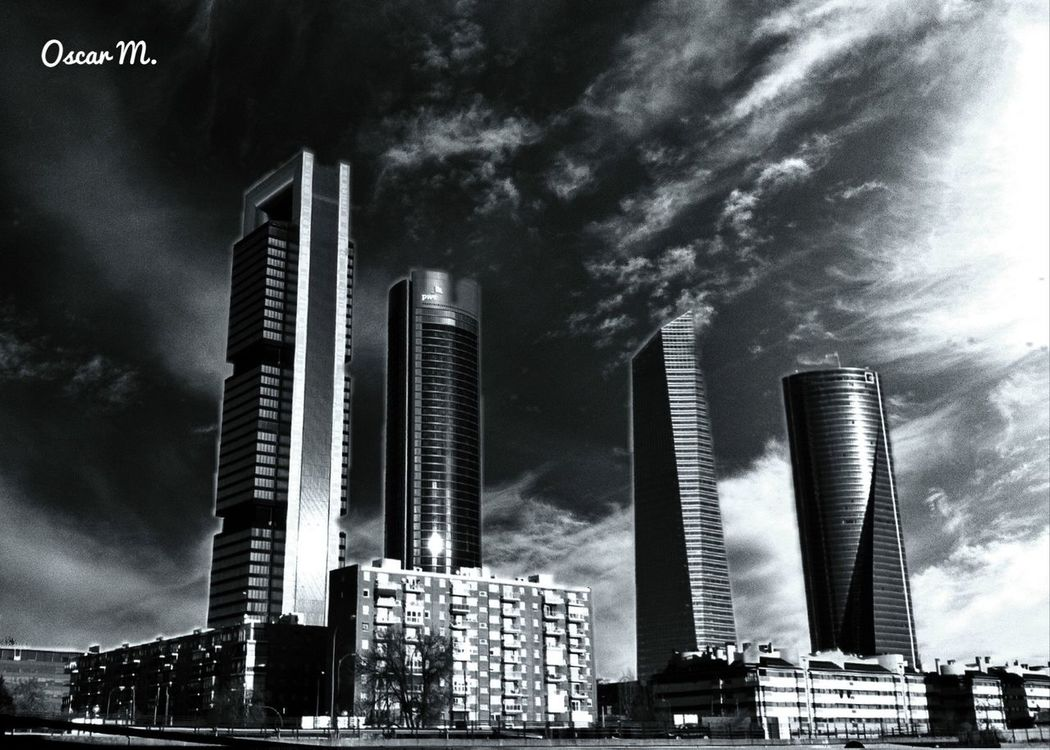 blackandwhite at Madrid by iPhone_Man