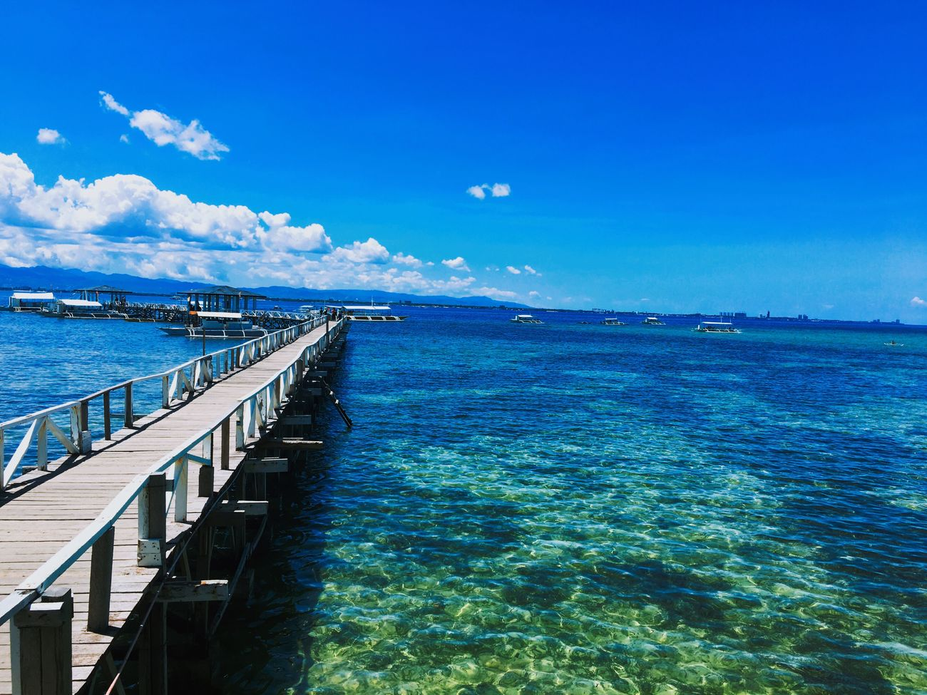 Cebu Scuba Diving Beach Blue Sky Sea Followme Trip First Eyeem Photo