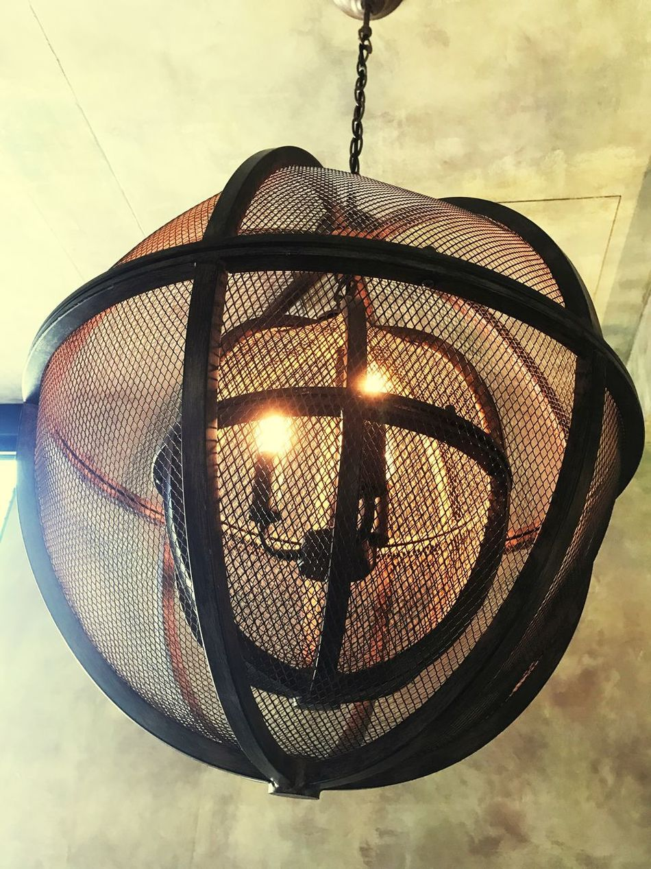 Lighting Equipment Close-up Electricity  Indoors  Hanging Glowing Cage