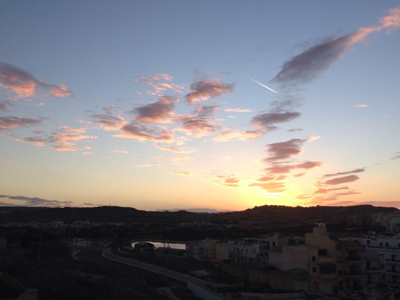 Sky Clouds And Sky Sunset Dusky Sky