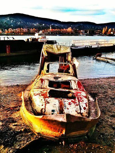 Shipwreck Ship Riverside Wreck Dock Port