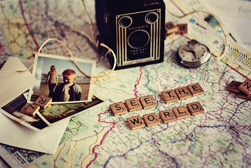 See The World Traveling Travel Dreaming Dreams Come True Podróż KompasMaps Photography Zdjecie