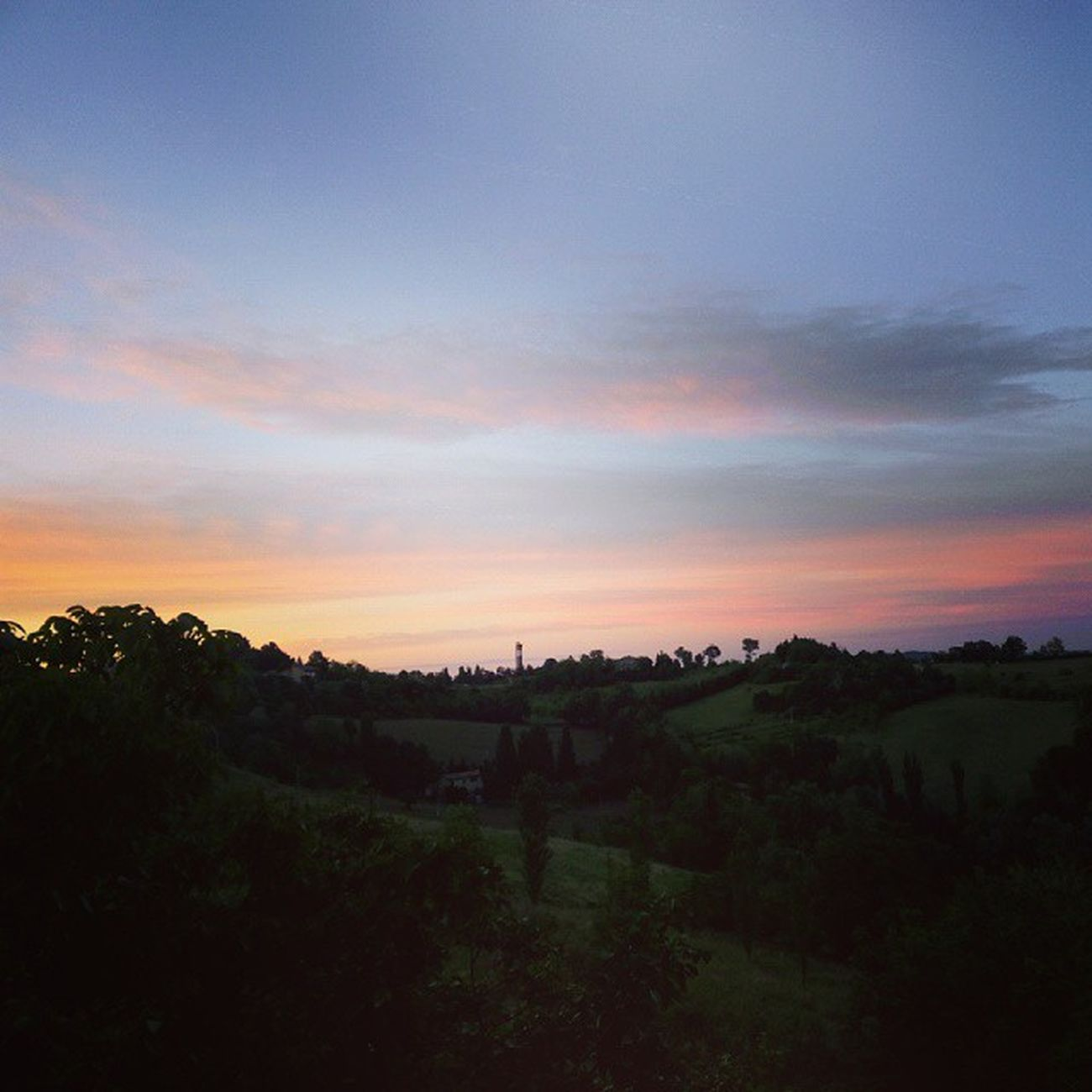 Urbino Montefeltro Tramonto Sunset