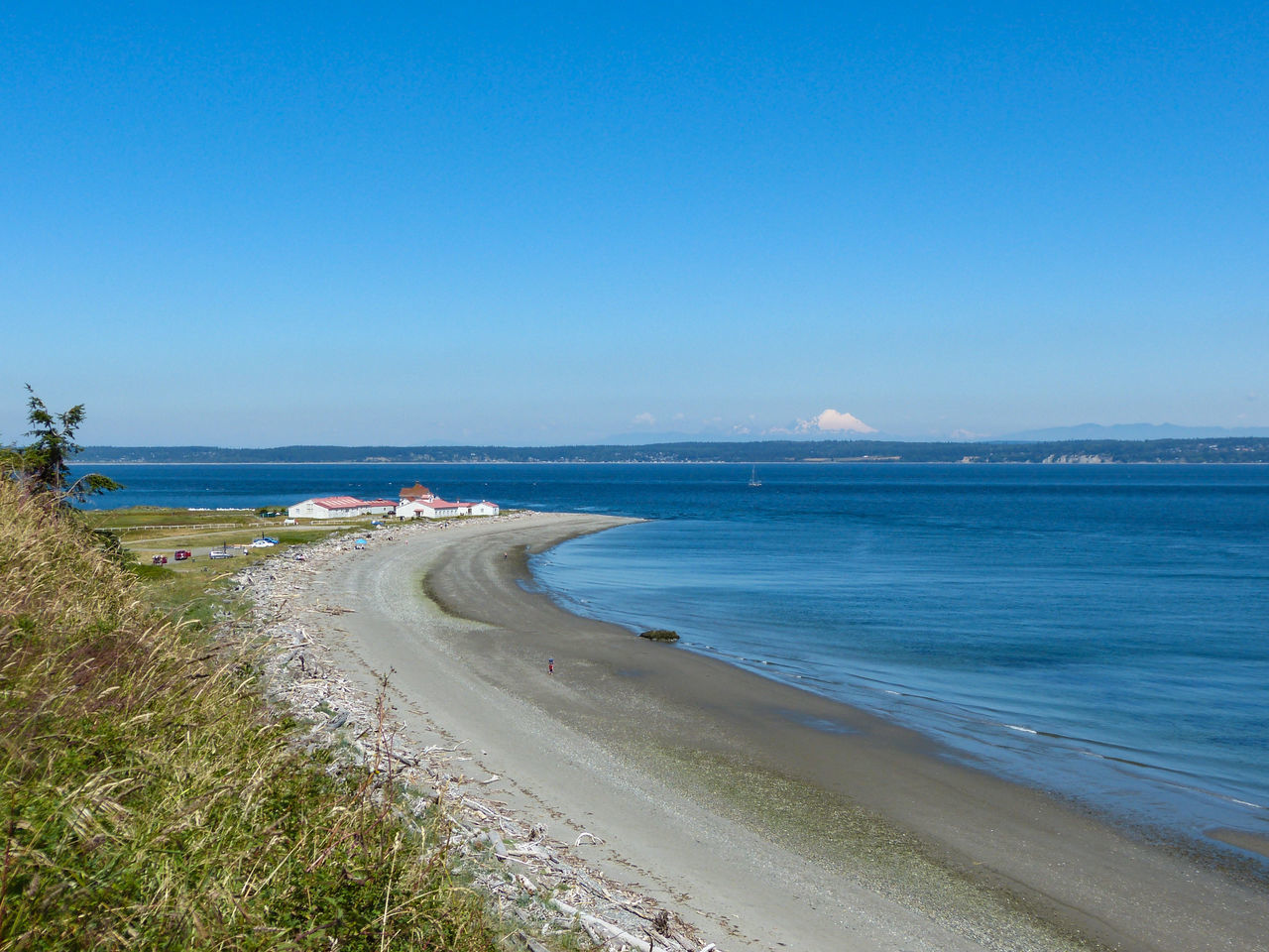 Beach Beach Photography Beachphotography Beauty In Nature Cascade Mountains Clear Sky Coastline Horizon Over Water Mt. Baker Puget Sound, Washington Sand Sea Shore Water