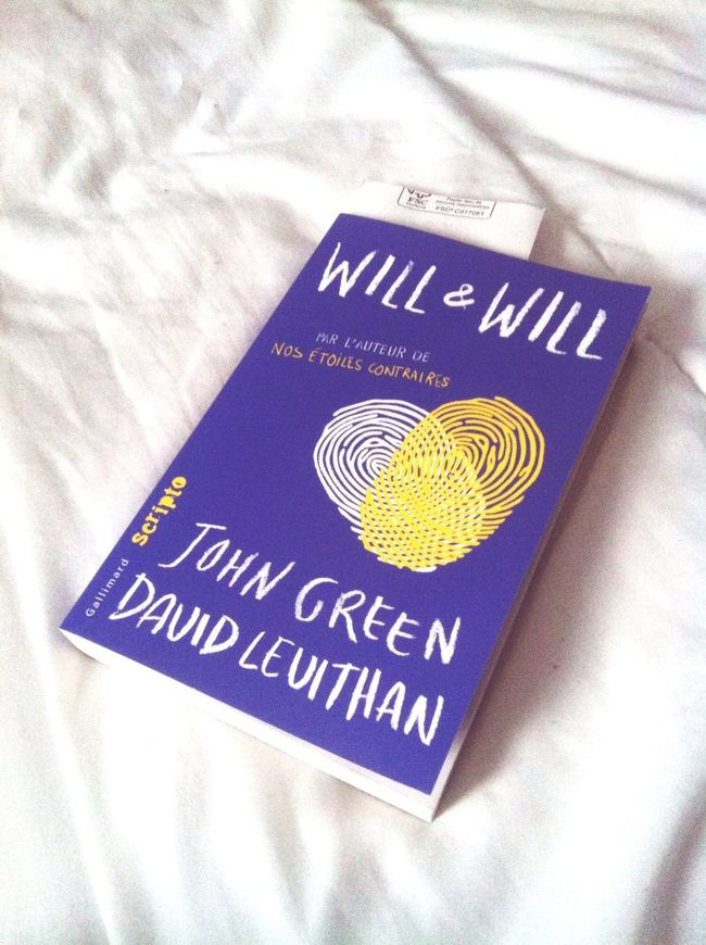 such a good book omg Will&will