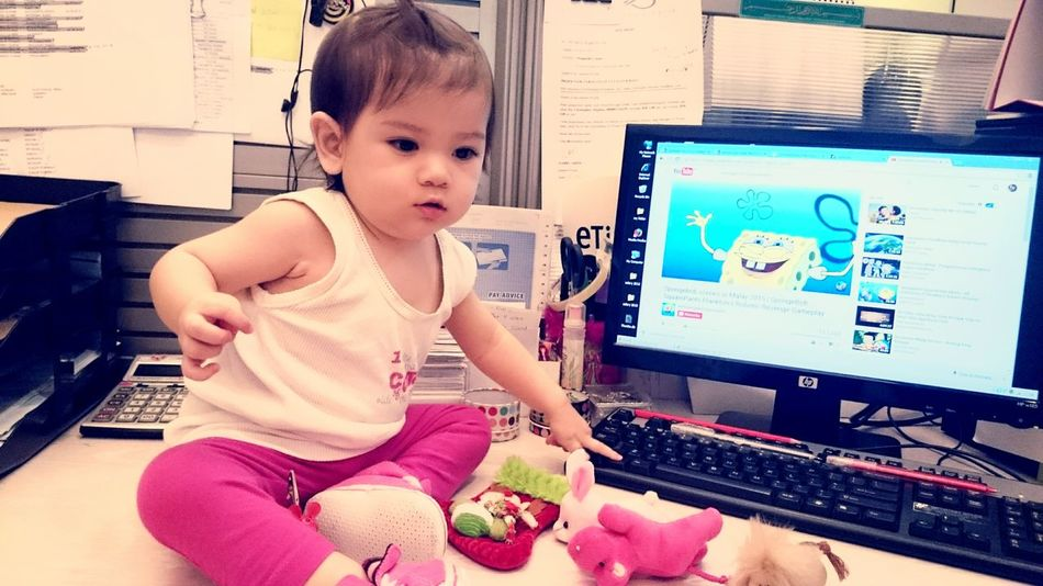 Showcase: January Smile ✌ Cute Baby Littlegirl So Adorable Taking Photos ❤ Potrait_photography