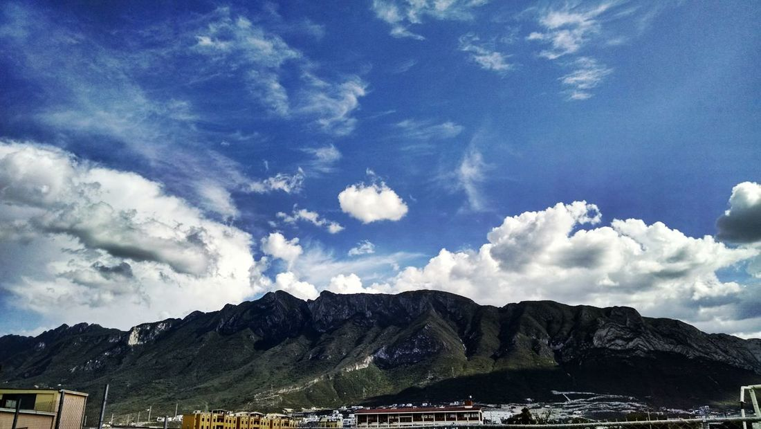 No words come to my mind right now. Have a nive saturday ? Mountain Sky Clouds Landscape