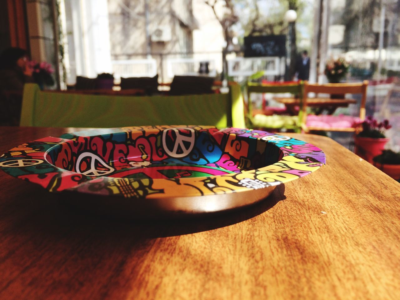 Ashtray  Colorful Design Coffee Time Photography