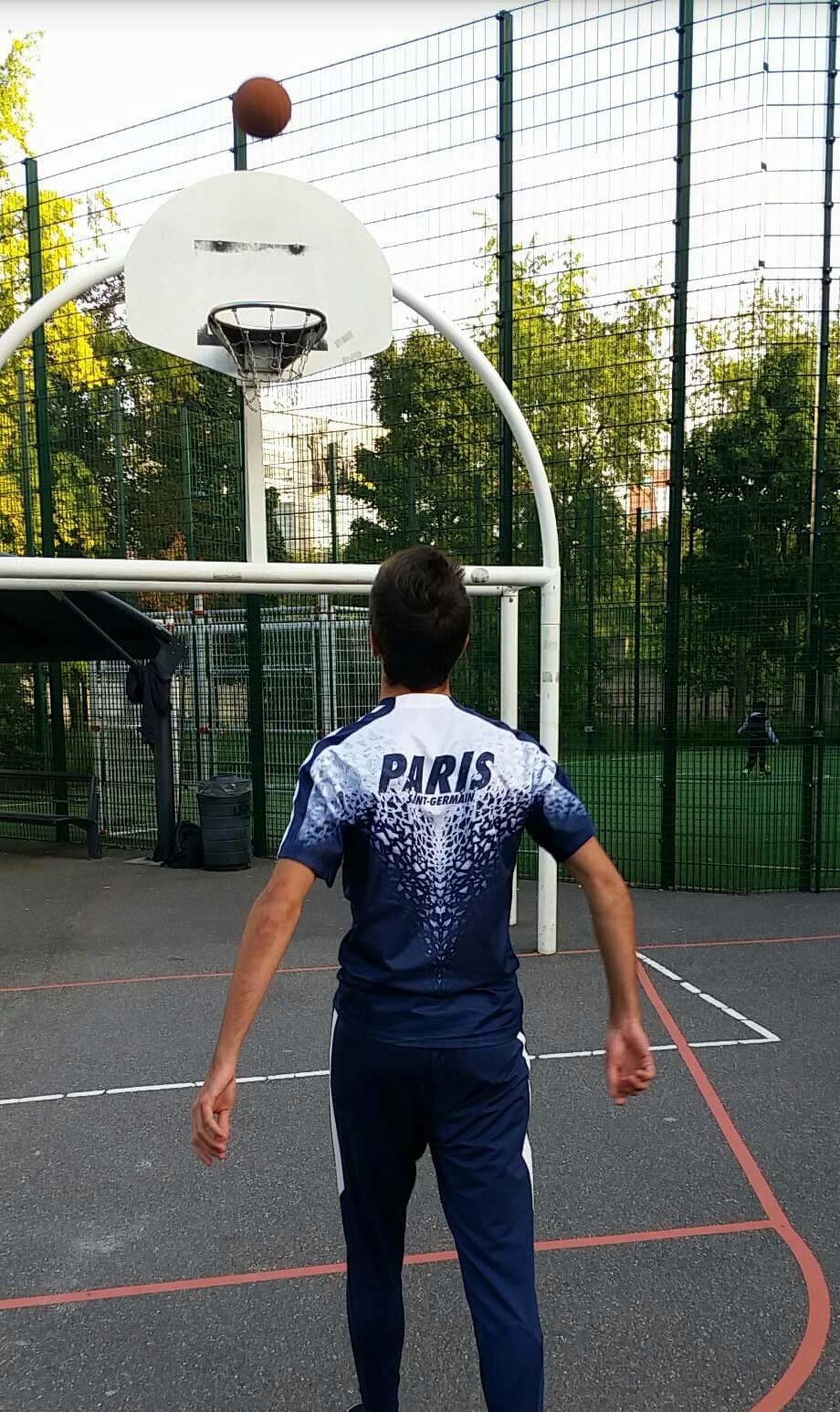 Basketball Paris PSG  Paris Saint Germain Summer City Stade Switch