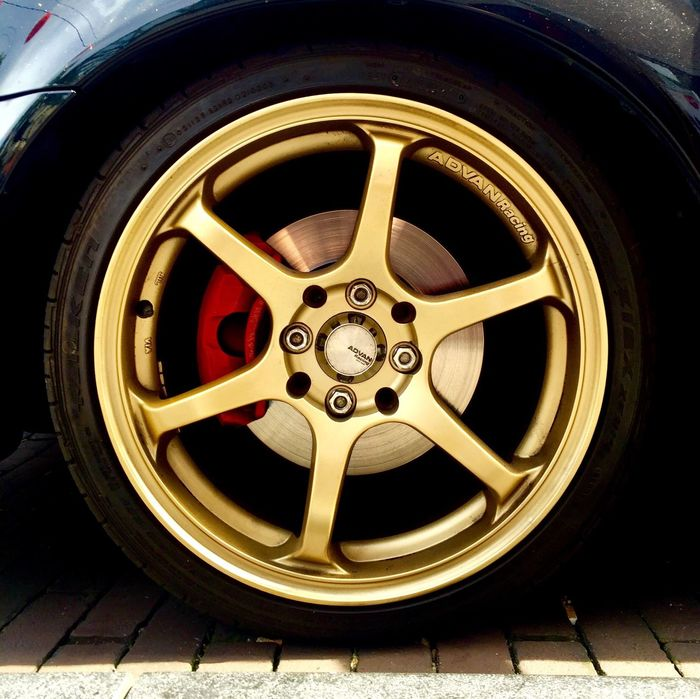 Them gold shoes Cars Streetphotography Wheels Subaru Wrx Alloy Wheels