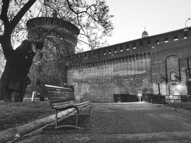 EyeEm Zhongbingchi Castle Milan Black And White Photography