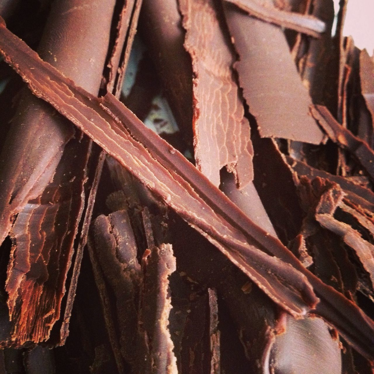 Textures And Surfaces Chocolate