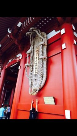 Day Red Close-up Hanging Japanese Market Japan Scenery Japanese Culture Lifestyles Building Exterior Asakusa,tokyo,japan Outdoors Outdoors Photograpghy  Leisure Cultures Shoe Slippers Temple Traditional Temple Japanese Temple