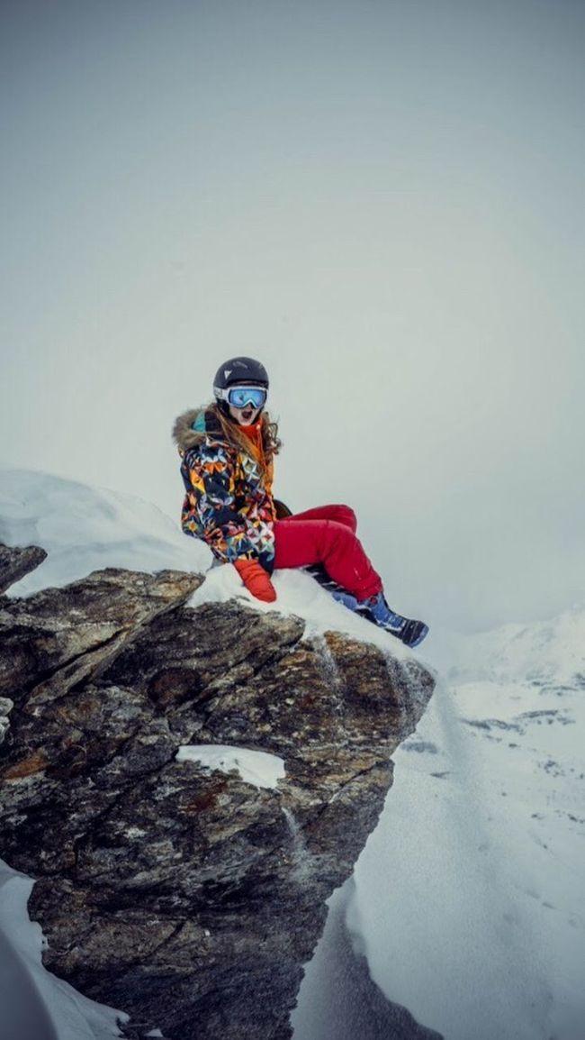 Круче гор могут быть только горы! Альпы горы France Alps Meribel Courchevel  Mountain Sky Snow Winter First Eyeem Photo