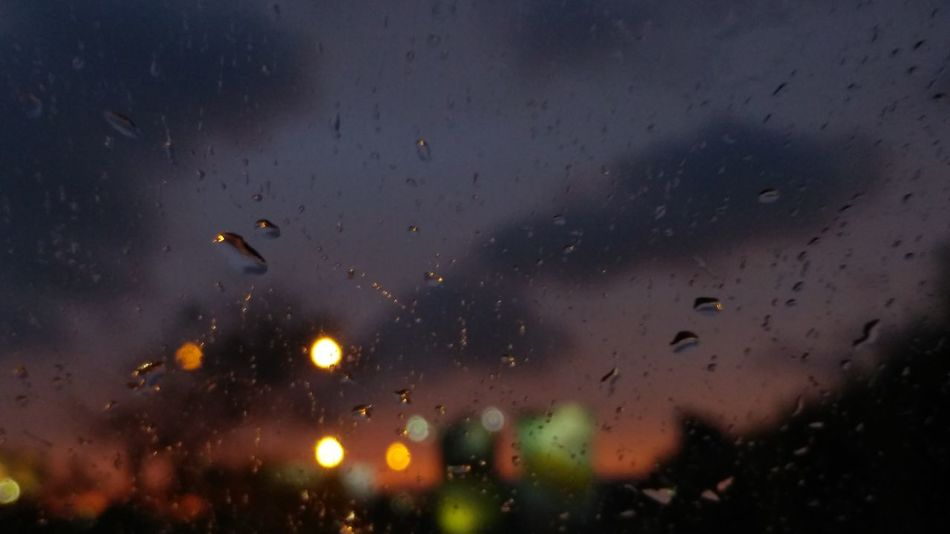 Bokeh Photography Rainy Sunset Ontheroad Multi Colored Costa Rica❤ Beautiful ♥ Nofilter