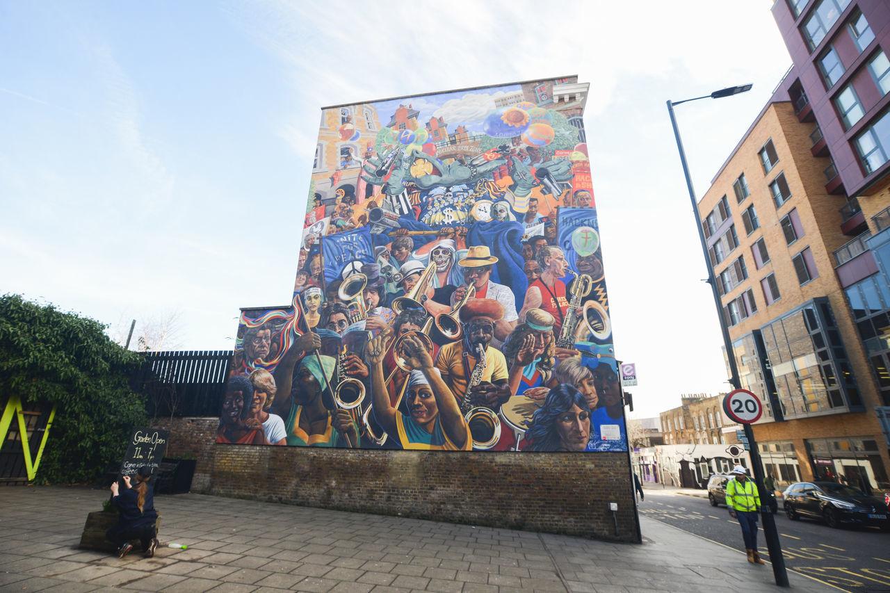 A Art Art Is Everywhere Artistic ArtWork Break The Mold Graf Graffiti London Urban Dalston Kingsland Road Dalston Dalston Sunday Club Out Of The Box The Street Photographer - 2017 EyeEm Awards The Architect - 2017 EyeEm Awards
