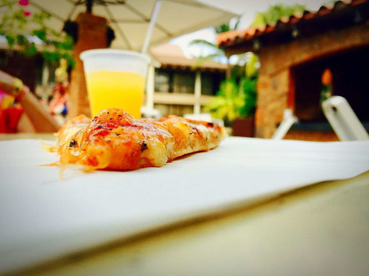 Pizza Snack Bonappetit Orangejuice