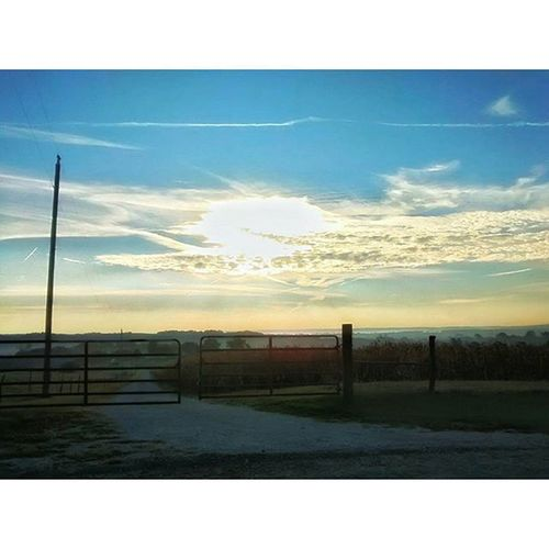 North on 2nd St up gravel road top of hill.....lol Ks_pride Atchison Wow_america_landscape Sunrise_sunsets_aroundworld ts_oftheworld
