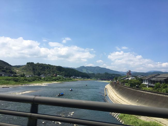 川下りー((・ω・ = ・ω・)) View From The Window... Sunny Day Mountain River Beautiful Nature Nature Kumamoto Beautiful Japan Photography