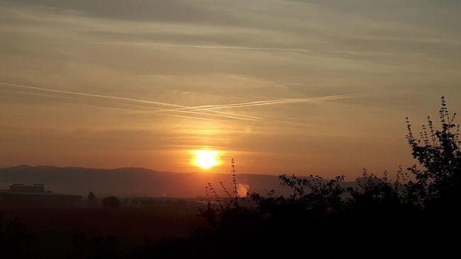 Sun Tranquility Atmosphere Sky Taking Photos Phonegraphy Morning Sun Sunrise - Dawn Good Morning World!
