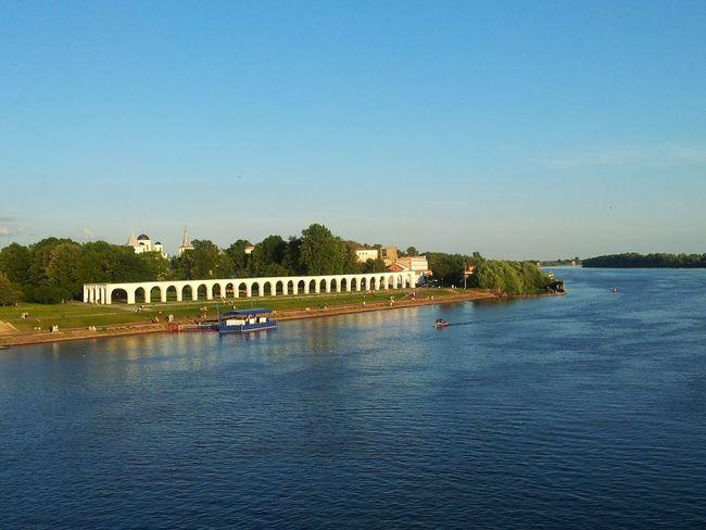 A Bird's Eye View Novgorod River