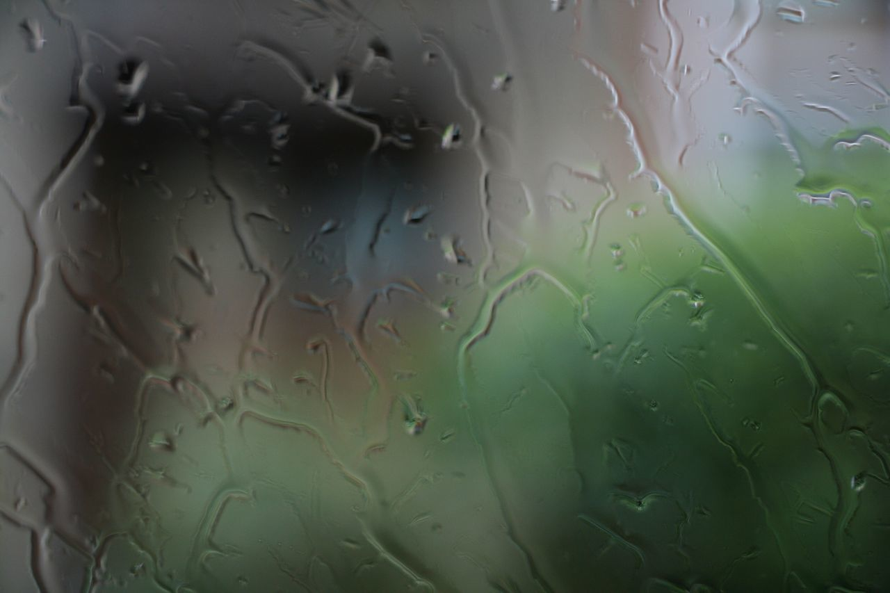 water, drop, indoors, no people, window, close-up, backgrounds, wet, full frame, raindrop, day, nature, fragility, freshness
