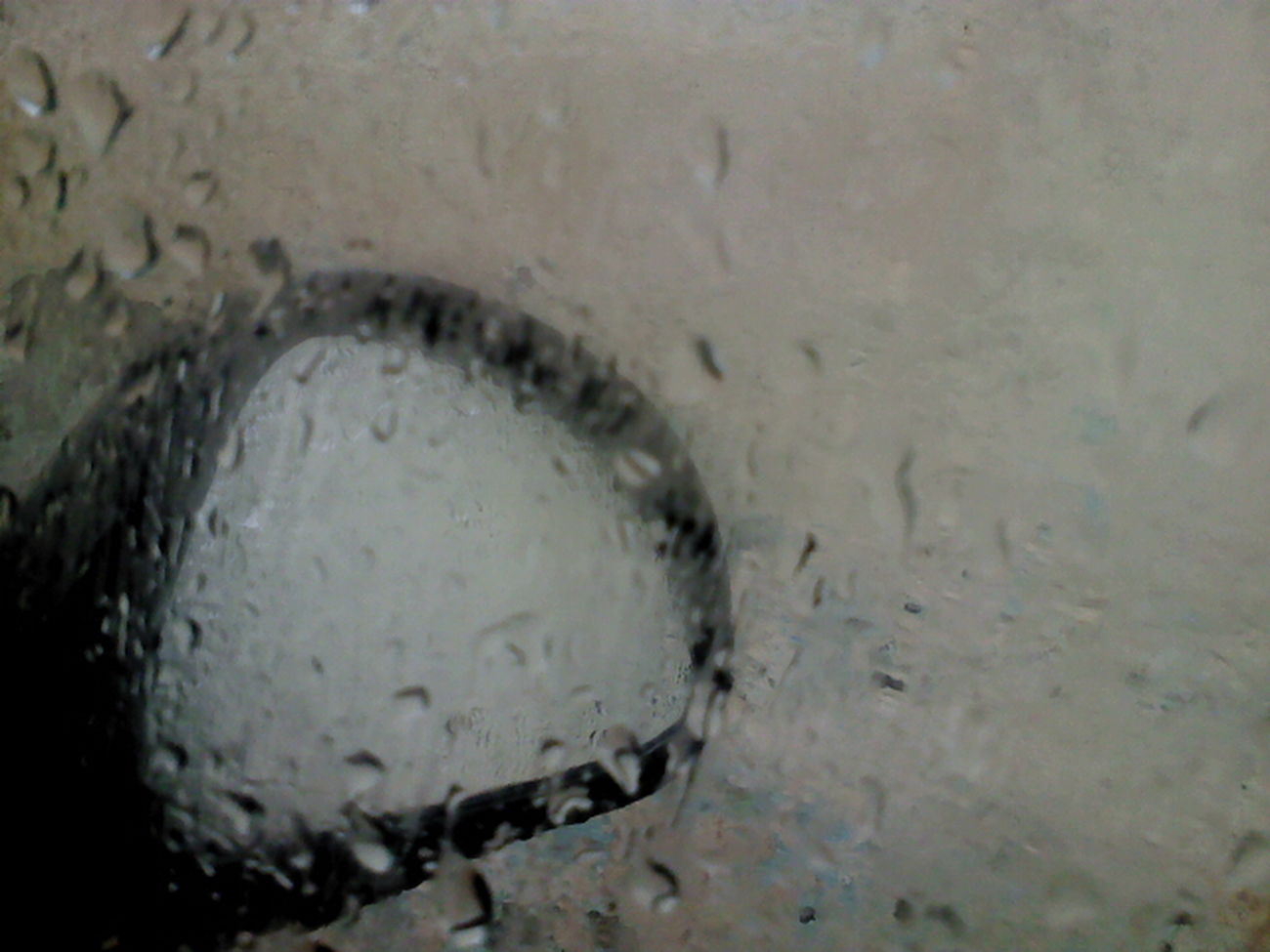 Rain, Rear View Mirror, Car, Raindrops, Rain, Glass, Front Window