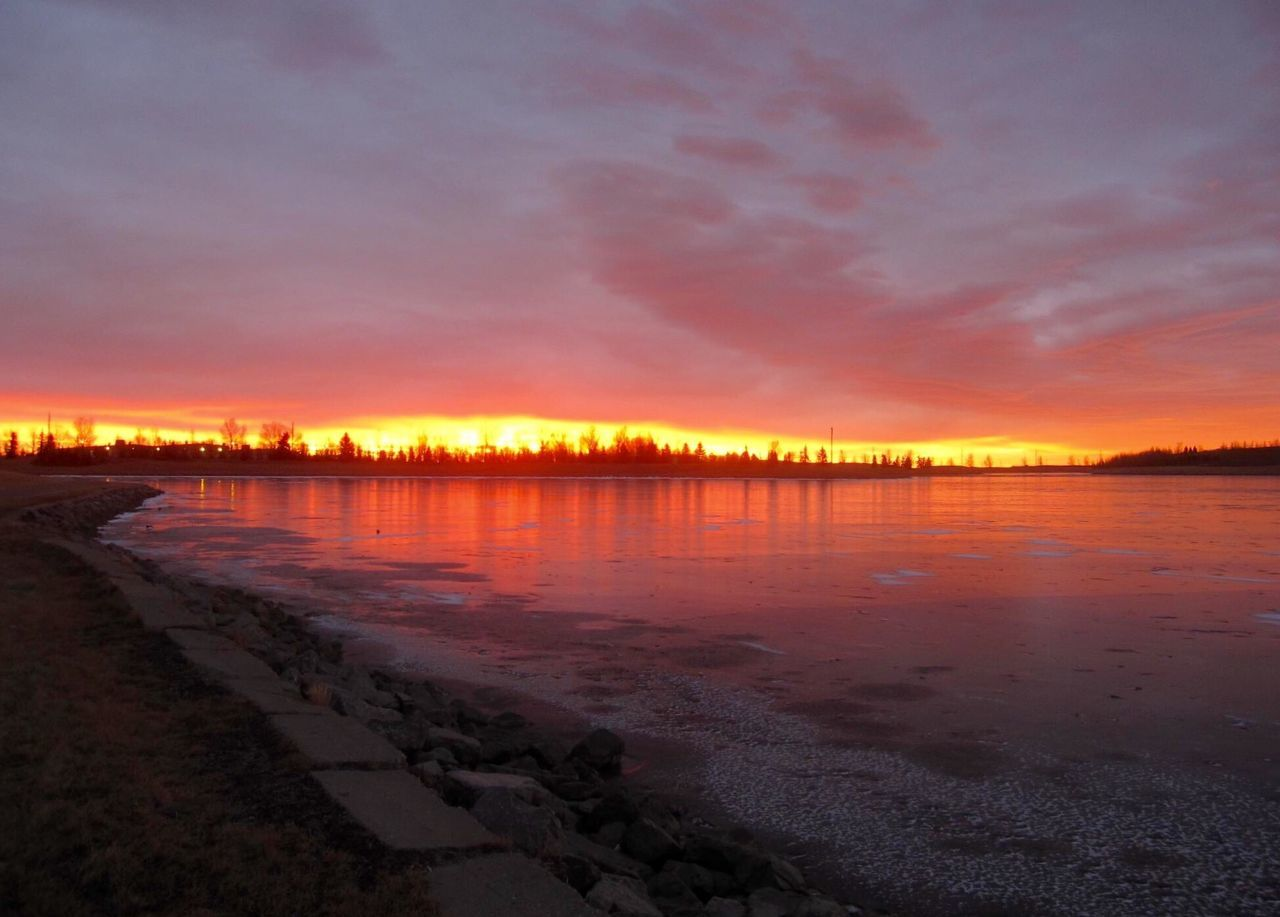 Early morning walk at Elliston Park NE Calgary my fire in the Sky ✨💫 Check This Out Hello World Enjoying Life Beauty Sunrise Sunrise_sunsets_aroundworld Sunrise_Collection Our Best Pics Landscape_Collection Landscape_photography Nature Photography Landscape Skyline Power In Nature Beauty In Nature