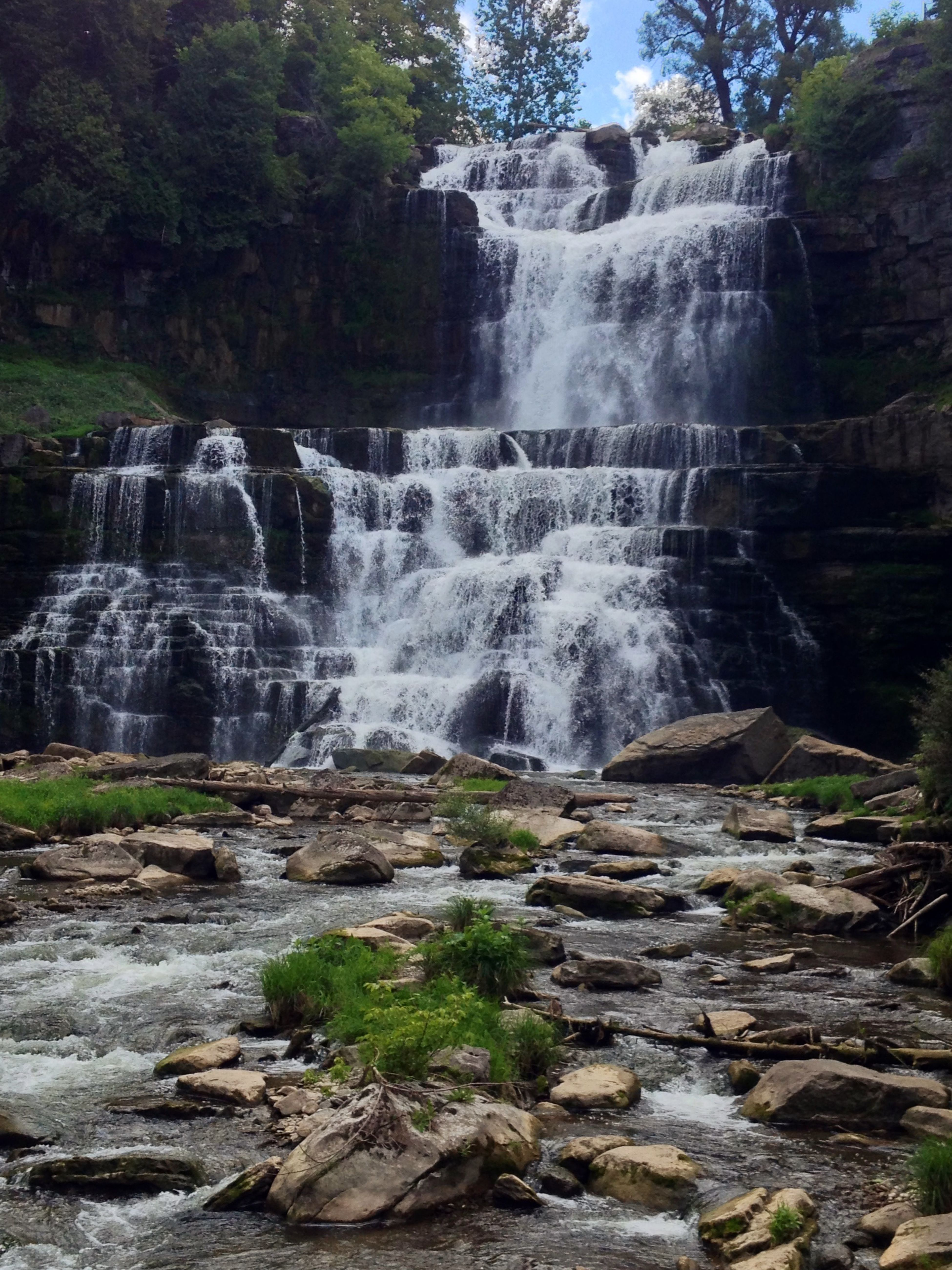 Waterfall Nature Photography Newyork No Filter