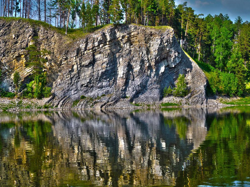 the Yenisei river Syberia Yenisei River
