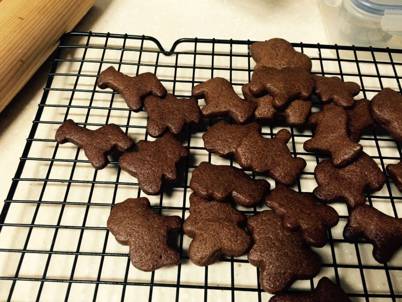 Baking Cookies Ginger Cinnamon Love With Kids