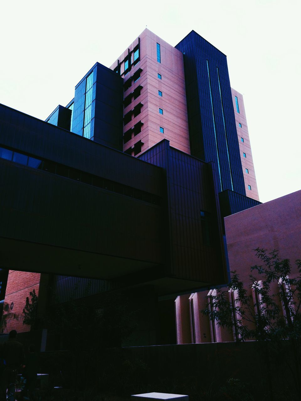 architecture, built structure, building exterior, low angle view, outdoors, day, no people, skyscraper, city, sky, clear sky, modern
