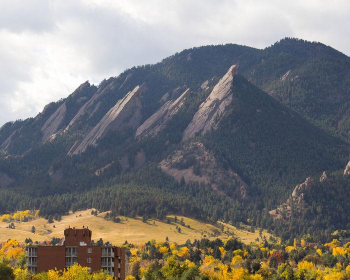 Mountains Landscape Fall