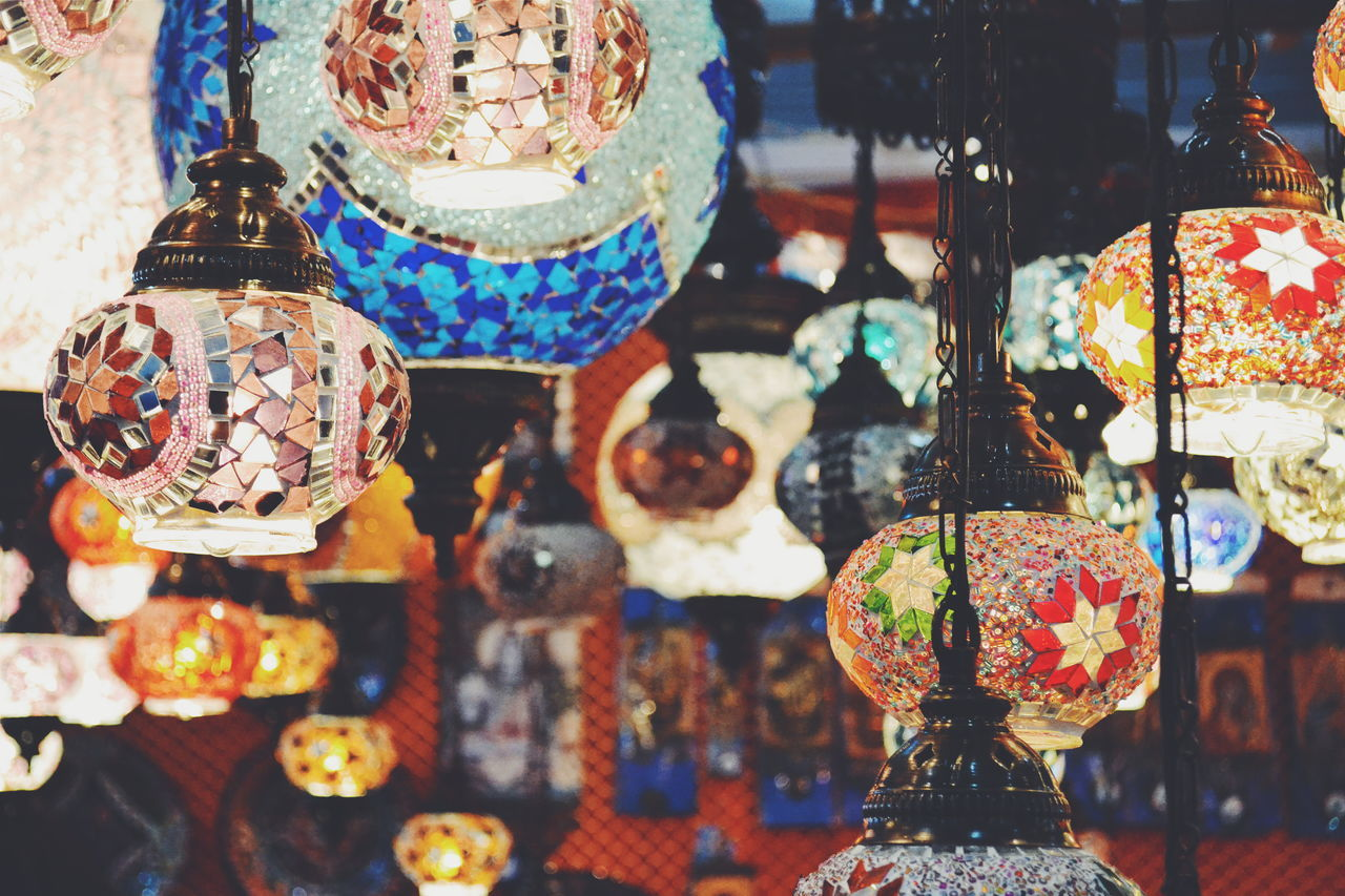 I guess I have this obesession for lamps. Lamps Beautiful Indian Traditional Rajasthani Varient Colourful Vibrant Multi Shiny Glittery Lit Up Sequence Work Sold In Mumbai Gallery Love Best  India Incredible India EyeEm Gallery Photography Alldayeveryday