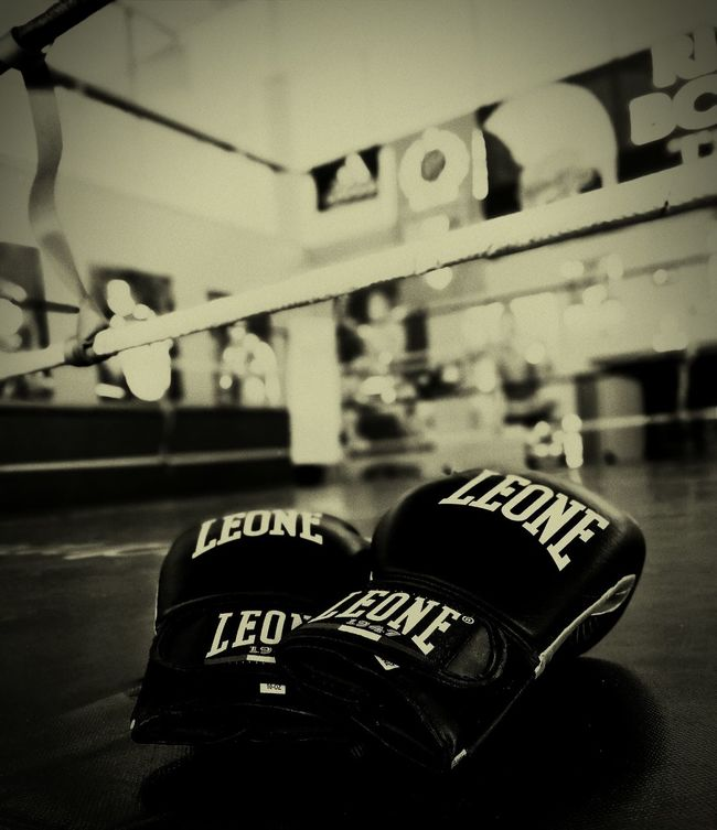 Boxing Ring Gym Cordon Tape Close-up No People Ring Sport Indoors Pugilato Boxe Day People Indoors  Sport
