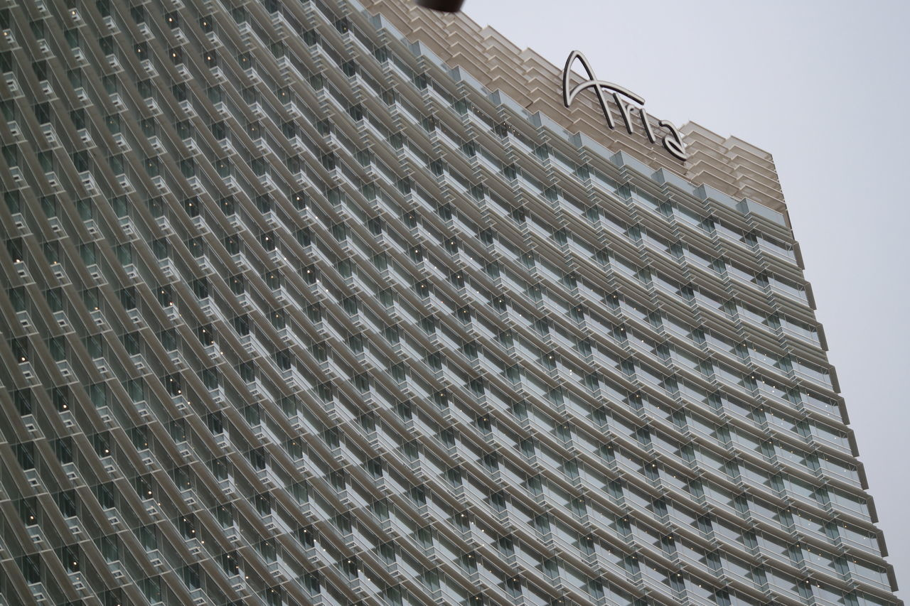 #ariahotel #building #hotels #lasvegas #Skyline Architectural Feature Architecture Building Building Exterior Built Structure Modern