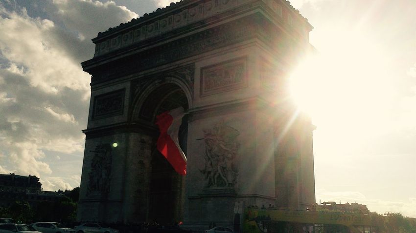 Paris L'arc De Triomphe Vacation Streetphotography City Of Love
