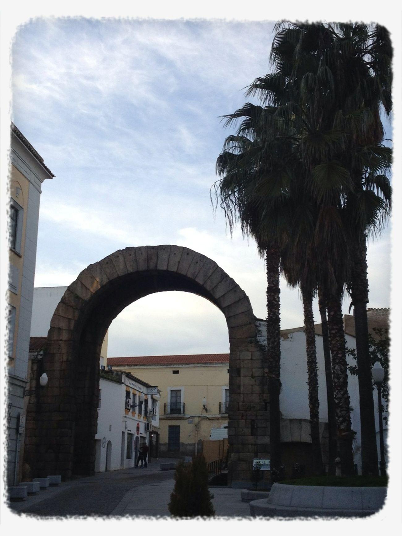 Arco de Trajano. Mérida-Extremadura.