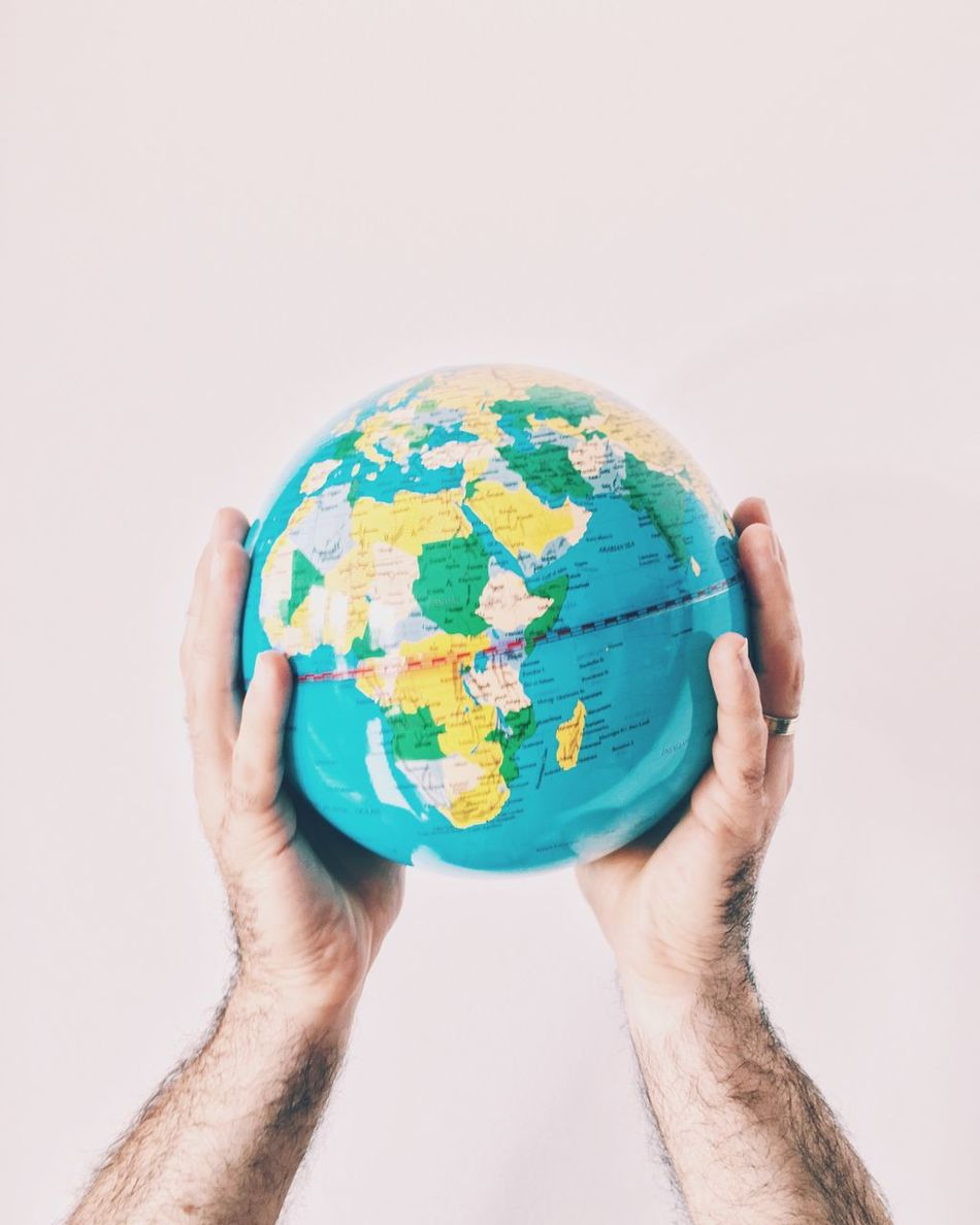 Beautiful stock photos of globe of earth, Blue, Cropped, Globe - Man Made Object, Holding
