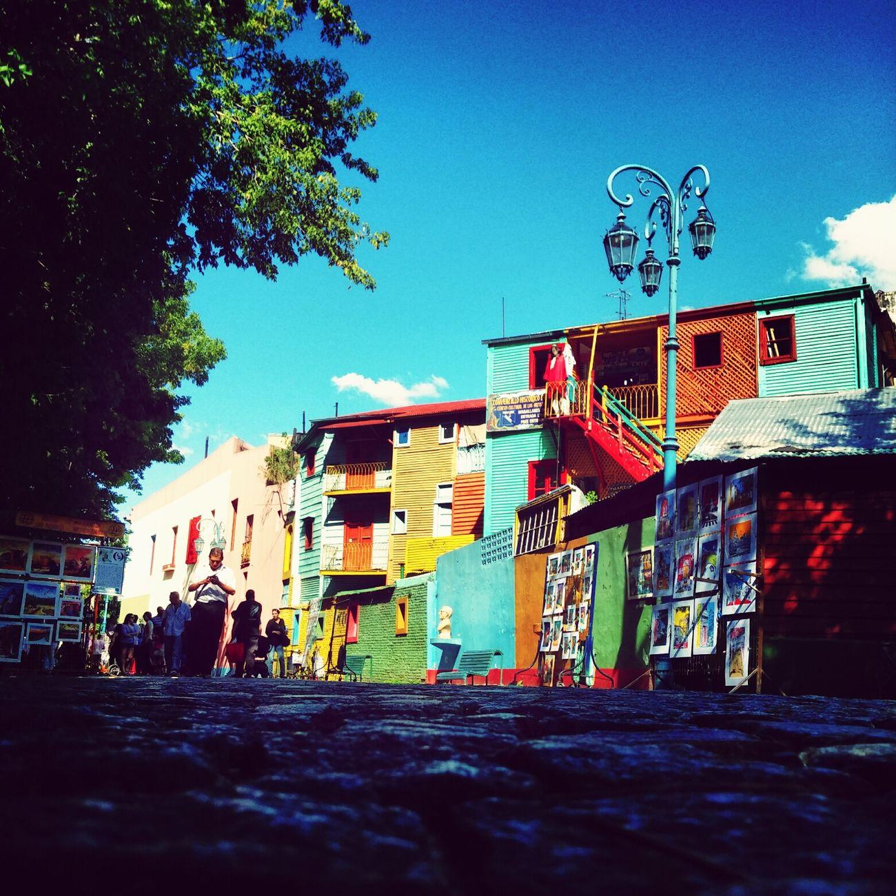 Barrio pintoresco de La Boca First Eyeem Photo
