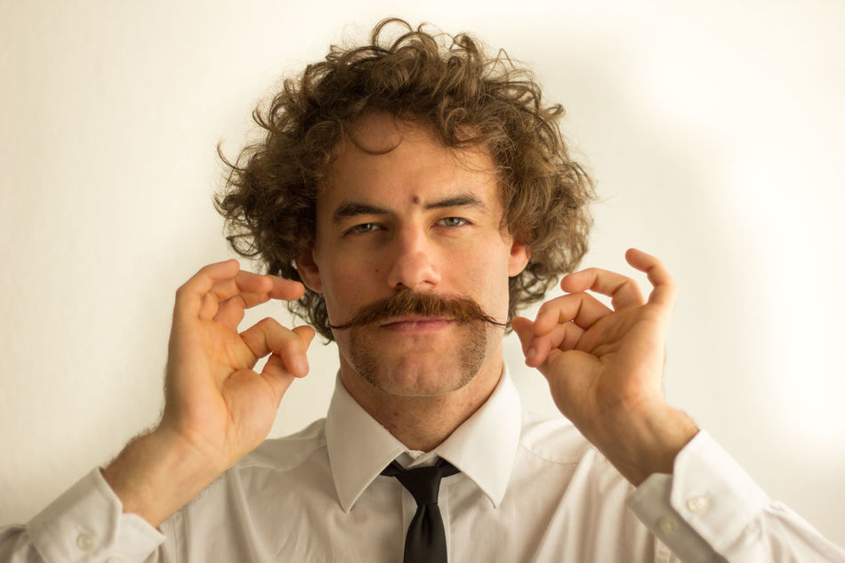 Beautiful stock photos of mustache, 25-29 Years, Brown Hair, Business, Businessman