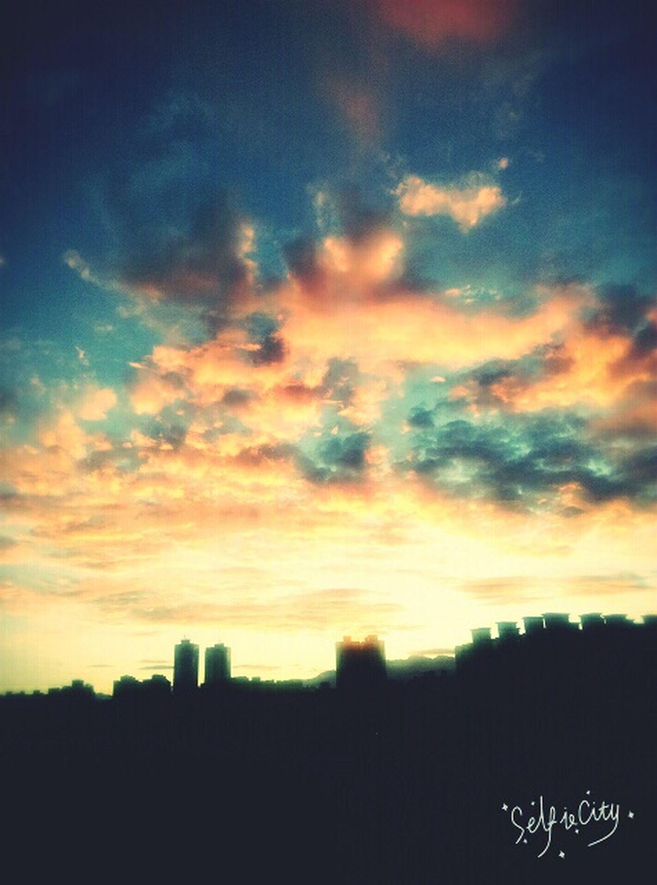 Morning Sky Taichung Taiwan