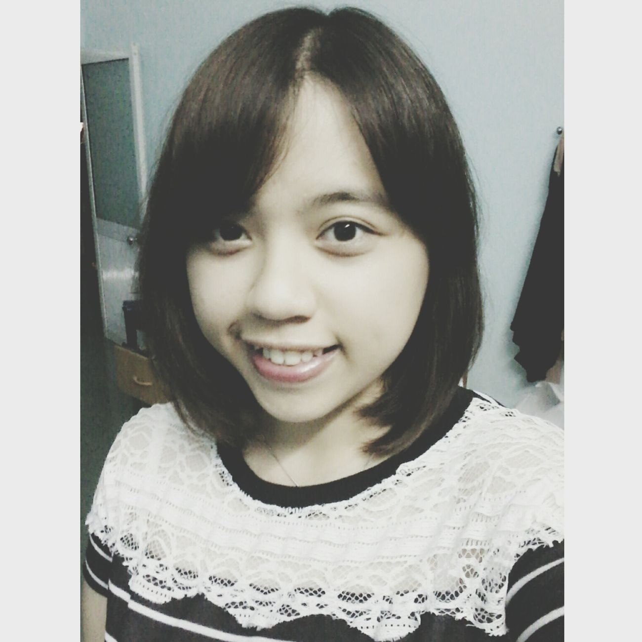 Vietnamesegirl Chubby Face Selfie